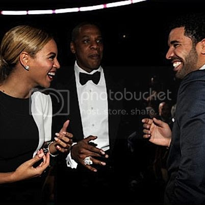 Something not seen very often; Beyoncé's songwriting gets praised, by Drake...