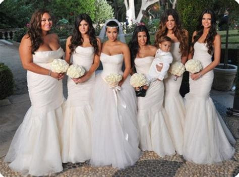 Milk Maids: Would You Dress Your Wedding Party In White