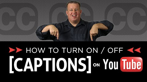 How To Turn On Captions On Youtube