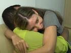 Casal de cegos tem 1º encontro no RJ (Reprodução/TV Globo)