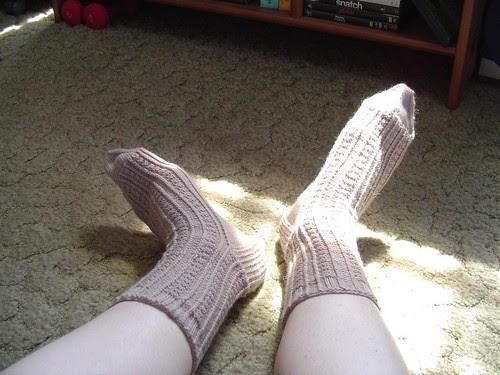 Retro Rib socks, May 30, 2006