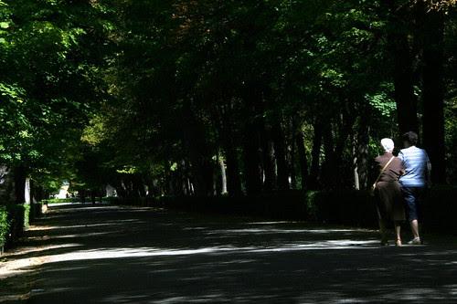 Jardín del Principe y río Tajo