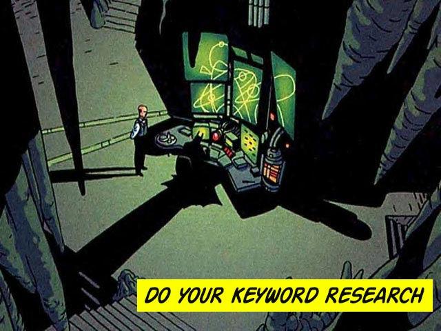 SEO Brisbane - Batman keyword research