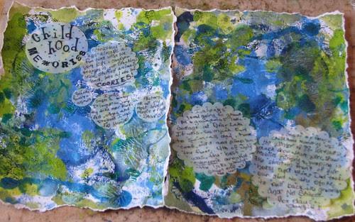 Art Journal #7  Childhood Memories 004