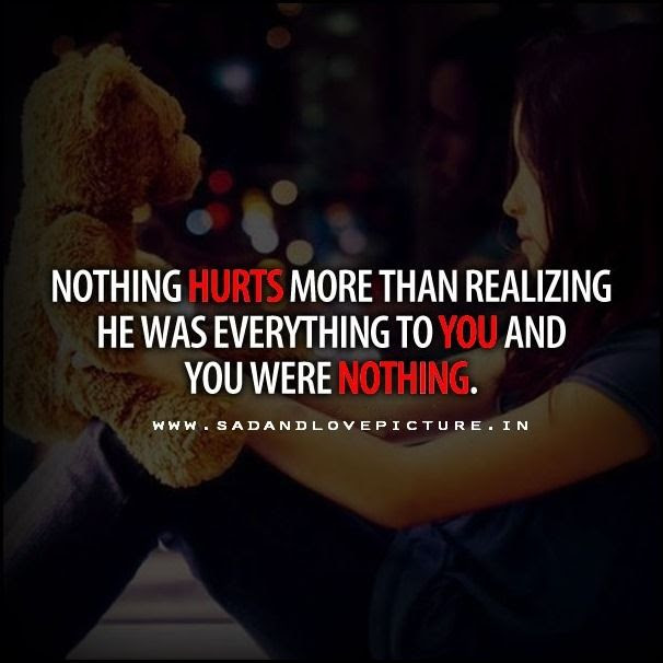 Sad Love Quotes That Make You Cry Sad Love Quotes For Him Pinterest