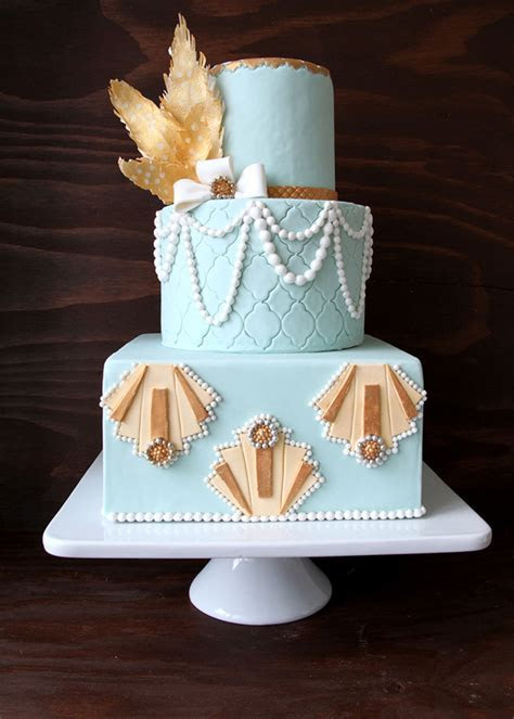 Great Gatsby Cake and Cocktails ? Style Sweet CA