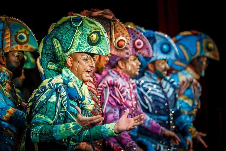 Carnaval de Cádiz en el Liceu de Barcelona