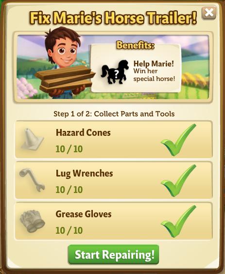 Marie's Baby Falabella Horse - FarmVille 2