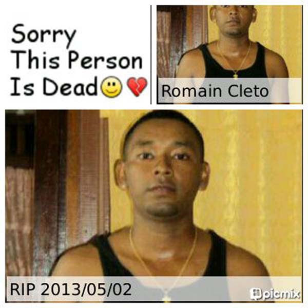 Three Years Latercorporal Romain Cletos Murder Remains On The
