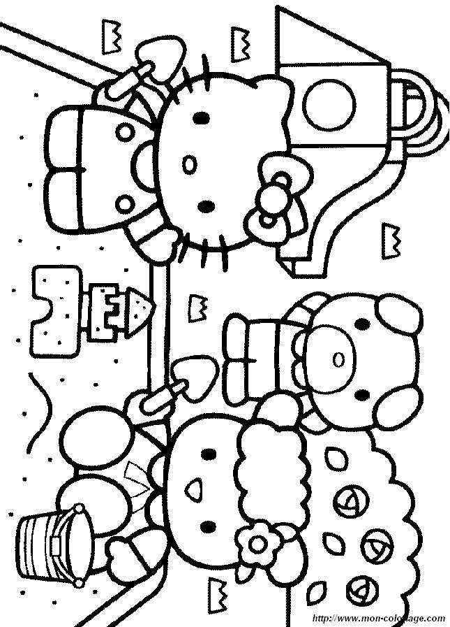 Ausmalbilder Hello Kitty, bild hello065