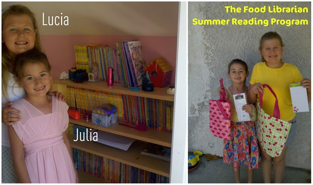 Summer Reading - Lucia & Julia