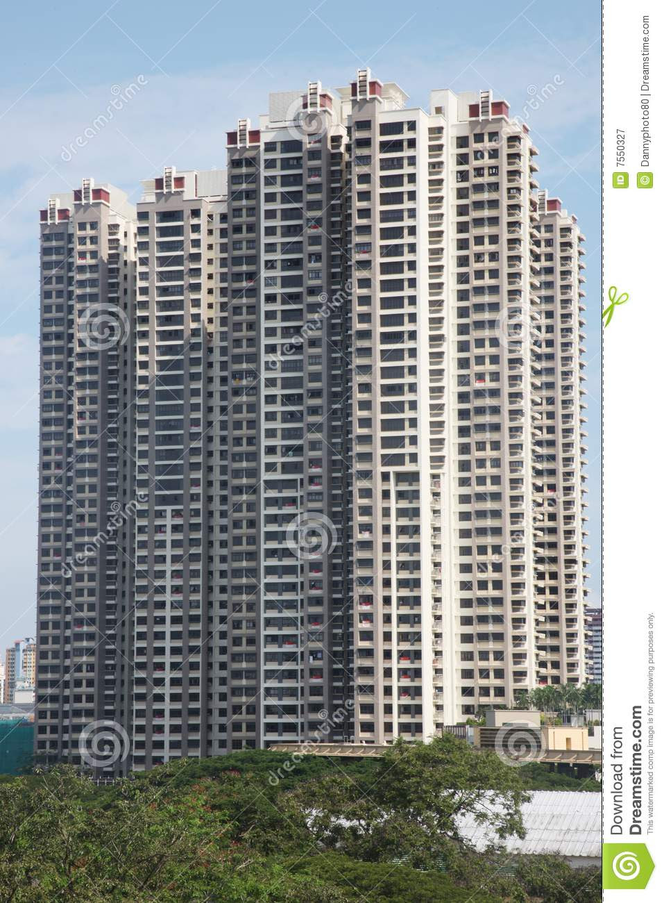 Tall Apartment Building Royalty Free Stock Photography ...