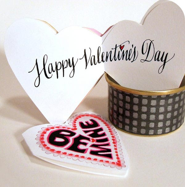 25+ Cute Happy Valentine's Day Cards | Lovely Ideas For ...