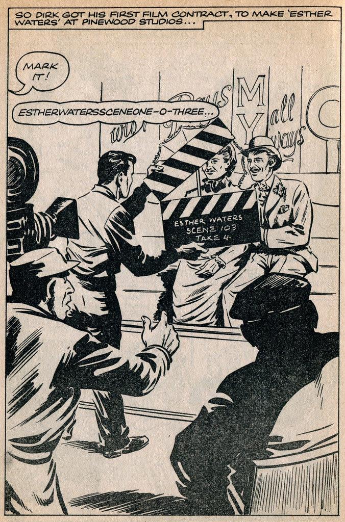 Dirk Bogarde comic 13