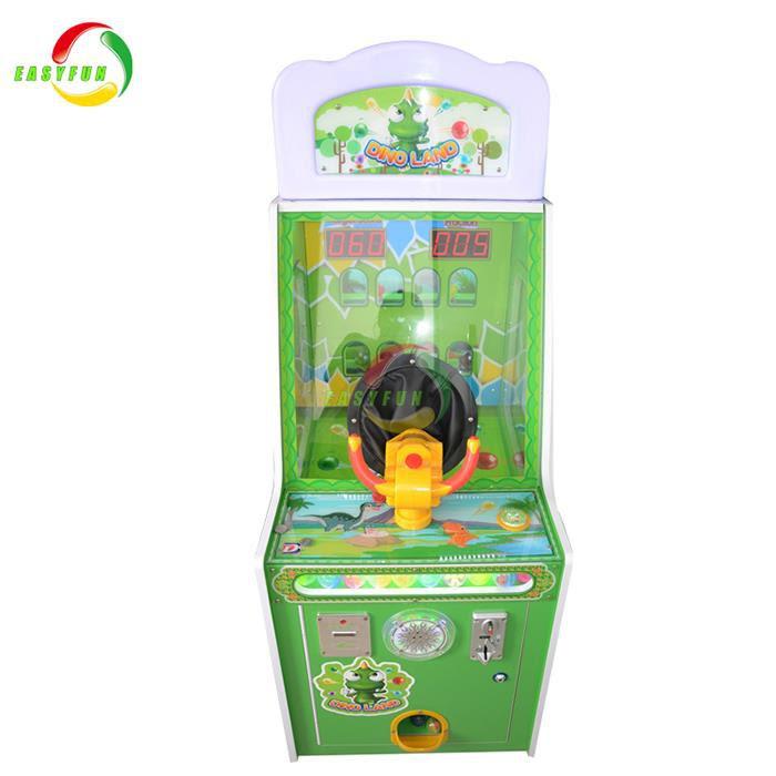 Koin Dioperasikan Terbaru Lotere Dinosaur Land Ball Shooting Mesin Permainan Anak Anak Produsen Dan Pemasok Cina Harga Pabrik Easyfun