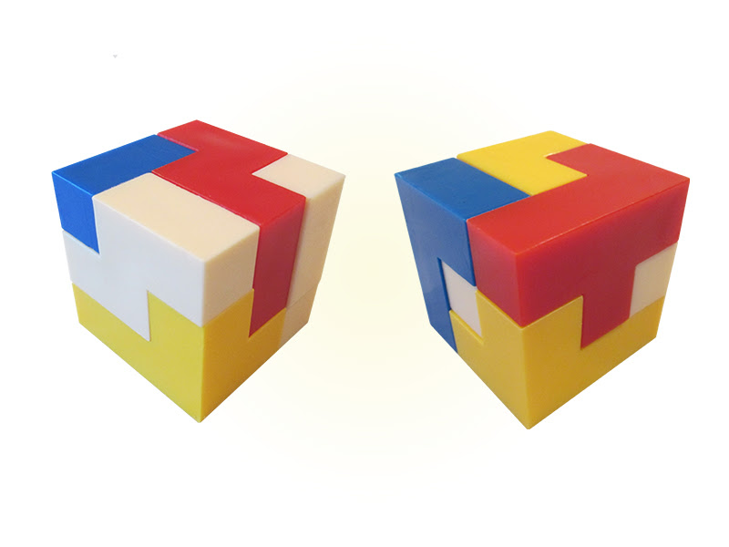 Zobrist Cube Classic I and II Cubes