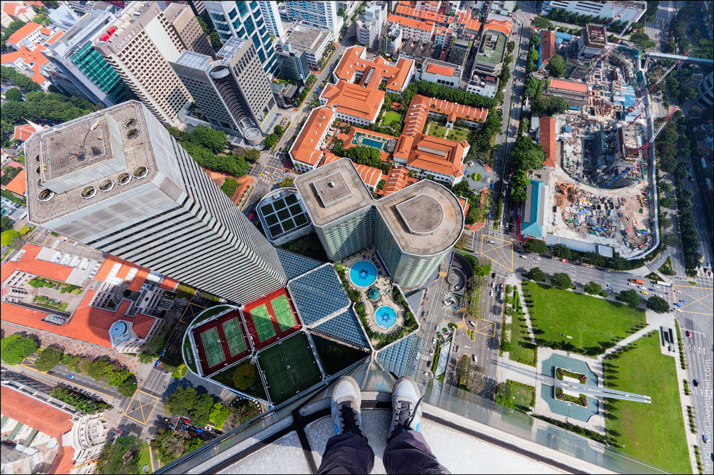 Singaporetravelmap: Things To Create Inwards Sg - Accept A Thought Of Singapore From 55Th Degree At Ion Orchard
