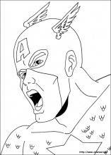 Dibujos De Capitán América Para Colorear En Colorearnet