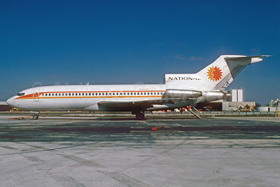National Airlines (1st) Boeing 727-35 N4619 (msn 18847) MIA (Bruce Drum). Image: 102858.