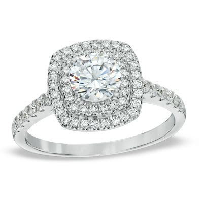 Zales 4 Carat Diamond Ring   Wedding, Promise, Diamond