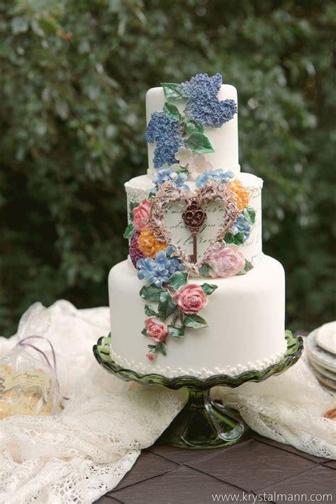 471 best Garden Cakes images on Pinterest   Garden cakes