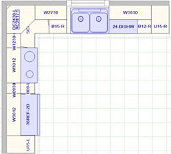 Kitchen Cabinet Design Template Kitchen Cabinets Design Layout | Interior Design Project Role