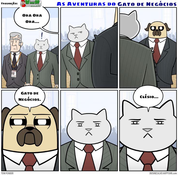Blog Viiish - Aventuras de um gato de negócios - O inimigo