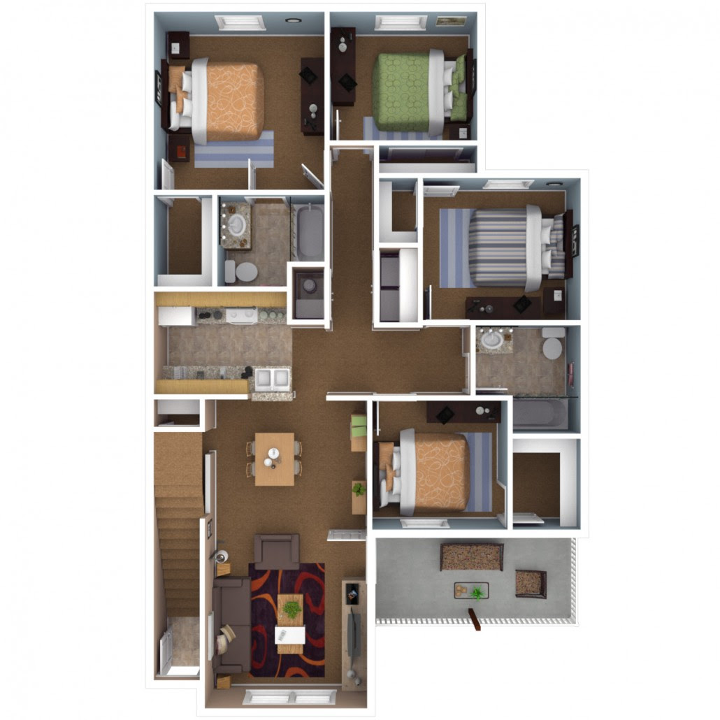 Avery Point Apartments: One Bedroom Apartments In Indianapolis