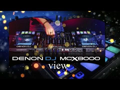 DENON MCX8000 DJ CONTROLLER VIEW