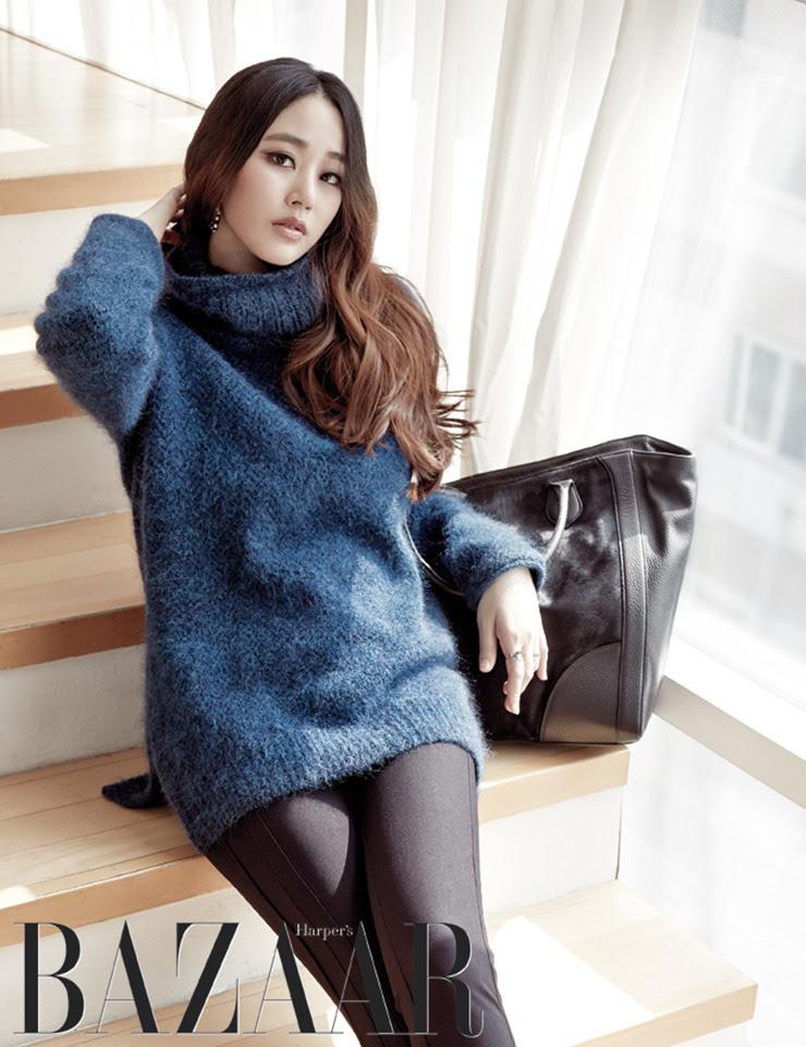 Kim Hyo Jin - Harper's Bazaar Magazine October Issue '14