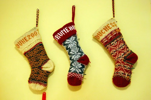 Christmas Stockings - inside