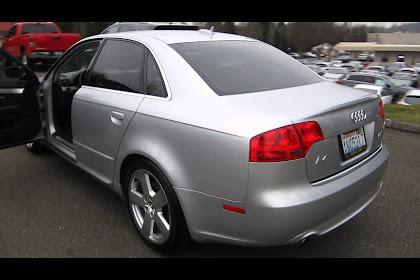 2006 Audi A4 Silver