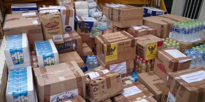 Διανομή προϊόντων TEBA από τον Δήμο Τρικκαίων
