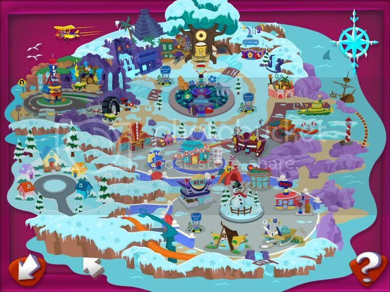 Winter Wonderland - Map