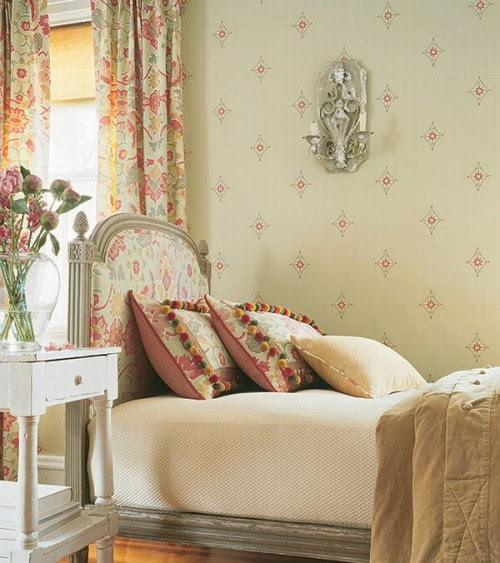 Wallpaper And Country French Style