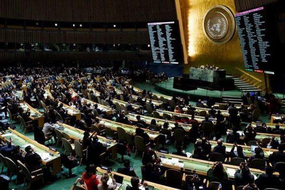 Votación en la ONU: Solo 8 Estados apoyaron a Washington. Foto de Archivo