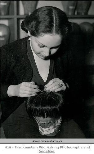 arcaneimages:  The Wig of Frankenstein