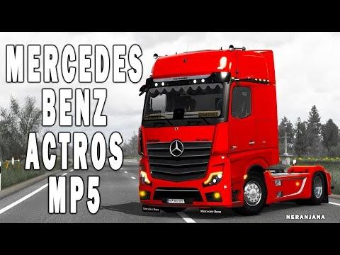 [ETS2v1.40] MERCEDES BENZ   NEW ACTROS   MP5