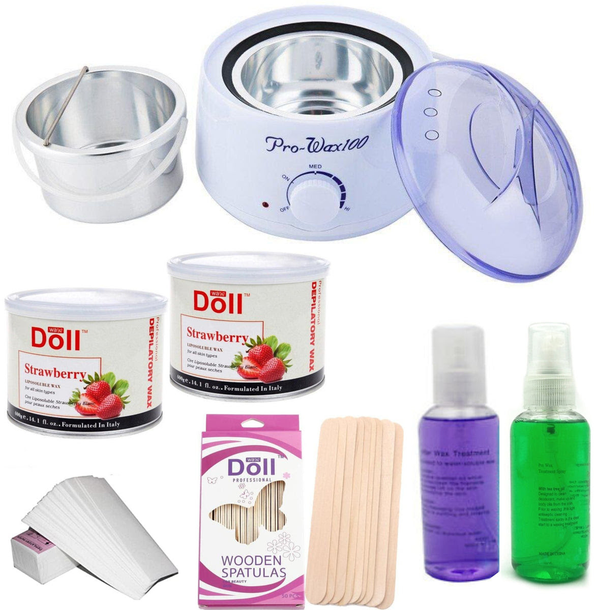 LIPOSOLUBLE WAXING KIT (FOR LARGER AREAS) - NPS Beauty Supplies