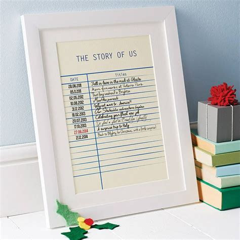 Personalised Story Library Card Print   Art to copy