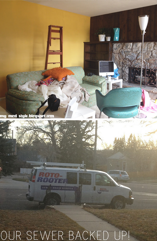 Living Room yellow plumber