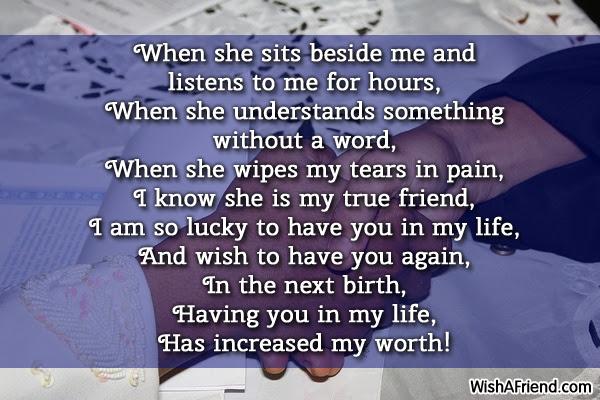 True Friends Poems