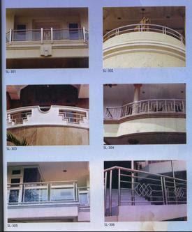 balkon stainless steel