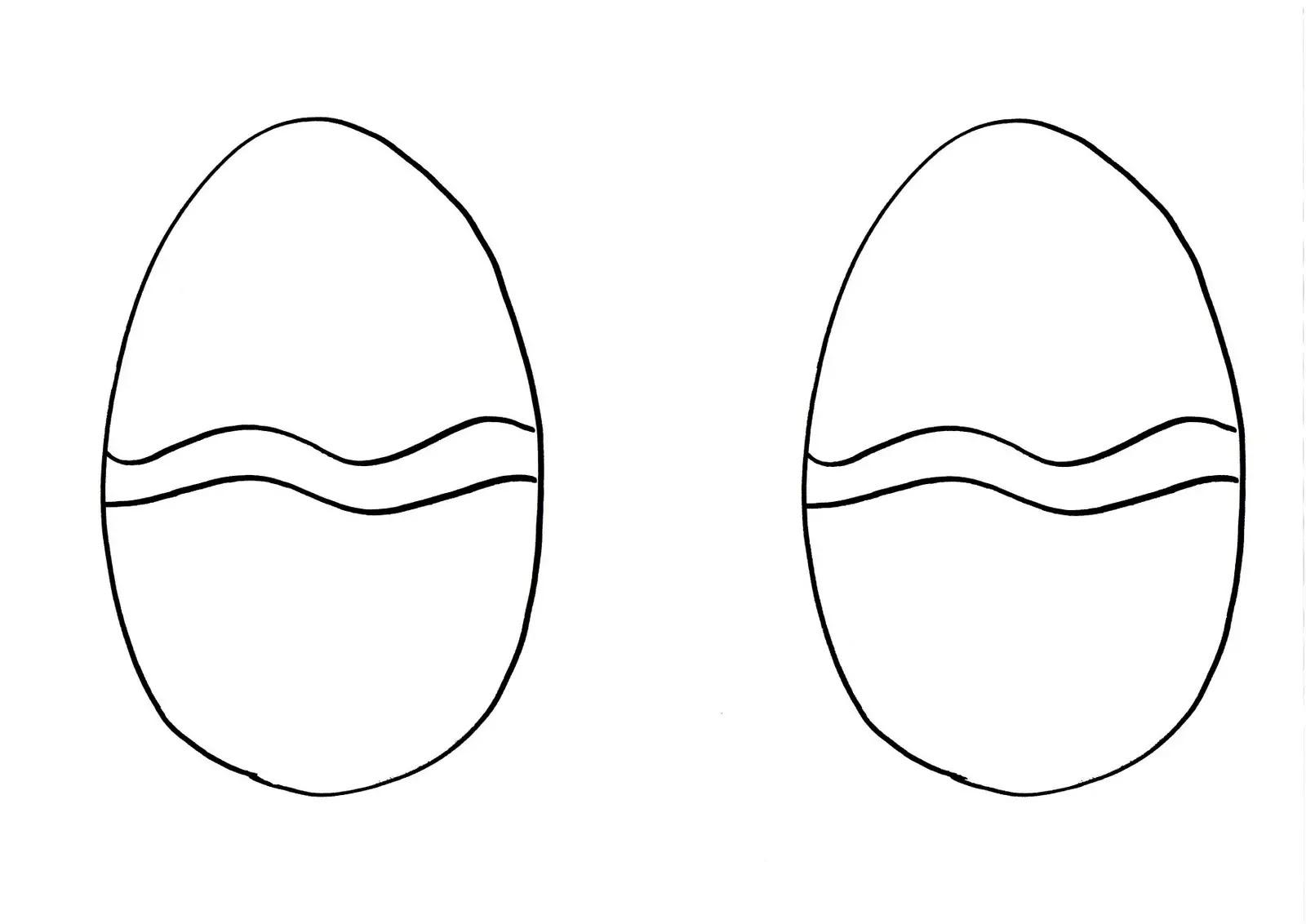 Huevos De Pascua Para Imprimir Y Colorear Actividades Para Niños