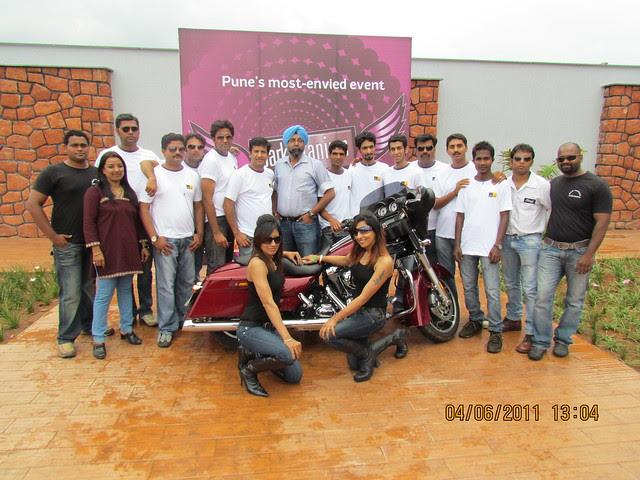"""Park Titanium Harley Fest"" at Park Street Wakad Pune IMG_3114"