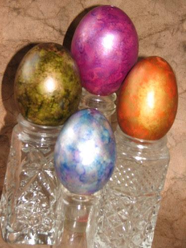 Metallic Easter Eggs 005