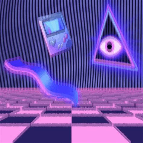 vaporwave gifs find share  giphy