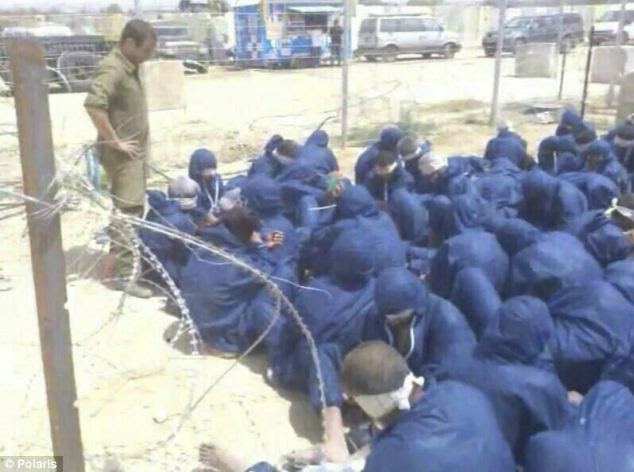 Hamas prisoners held by Israel
