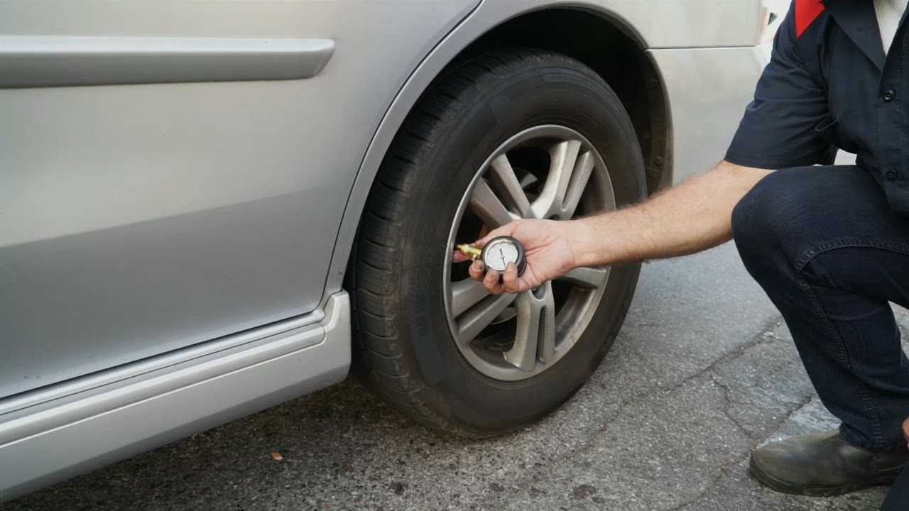 How To Fill Air In A Cars Tires 12 Steps With Pictures