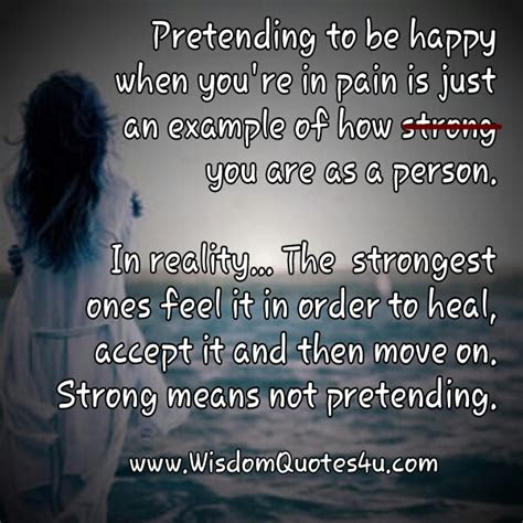 Sad But Pretending Happy Quotes